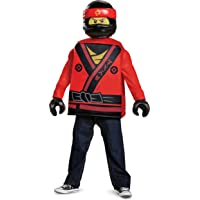 Kai Lego Ninjago Movie Classic Costume, Red, Small (4-6)