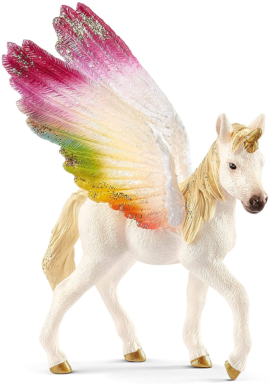 Schleich Bayala decorado Unicornio Mare Figura de juguete