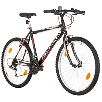 Cool Look Probike 26 Inch Mountain Bike Rim White Gloss Rigid