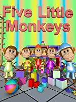 Five Little Monkeys - Nursery Rhymes Video for Kids