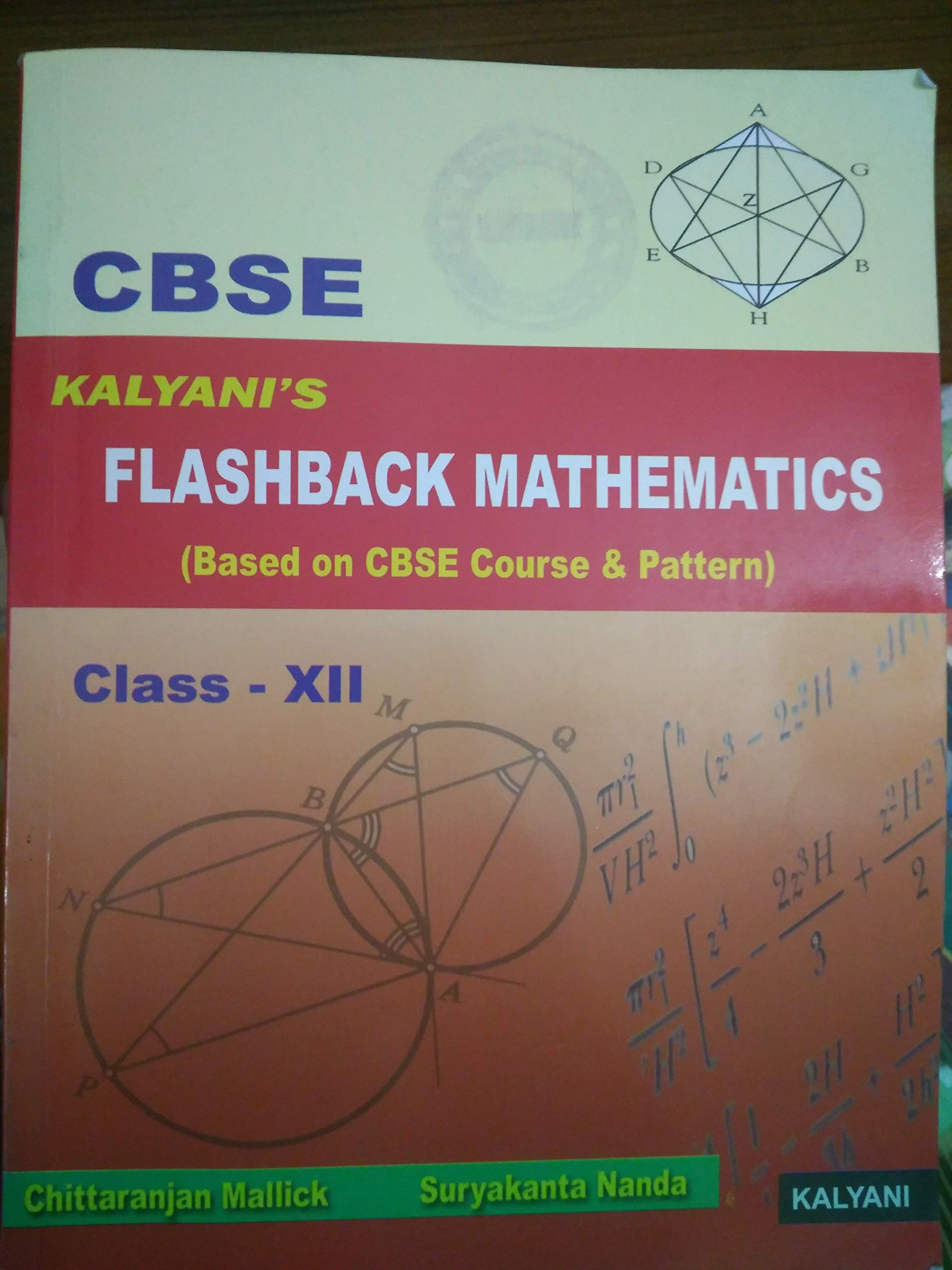 Cbse Kalyanis Flash Back Mathematics Class 12 Flashback Wiring Diagram Chittaranjan Mallick Suryakanta Nanda Books