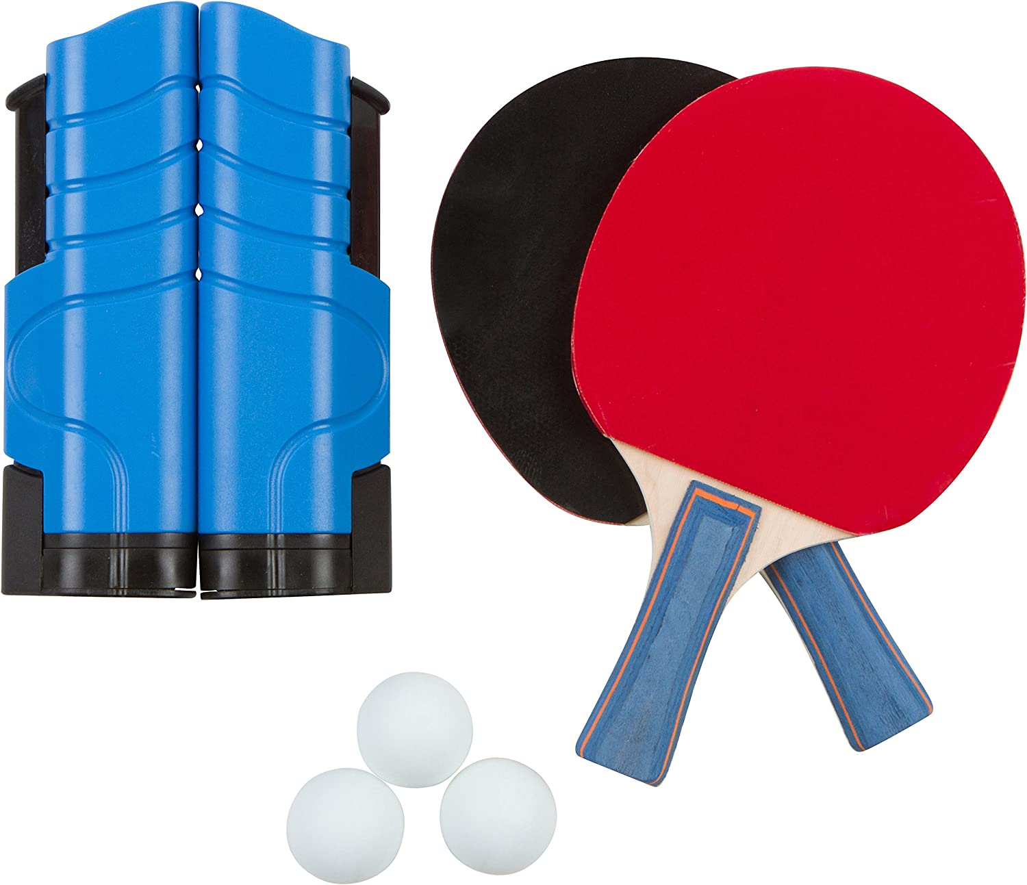 Trademark Innovations Anywhere Table Tennis Set with Paddles and Balls