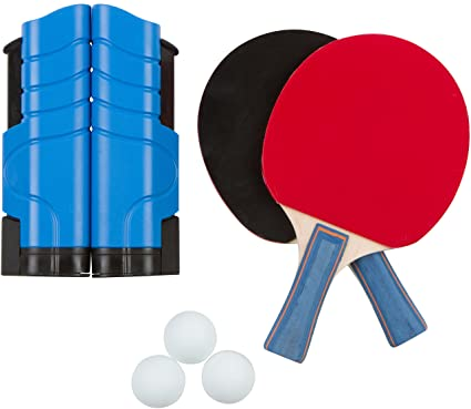 Portable U0026 Lightweight Ping Pong Game Set By Trademark Innovations ...