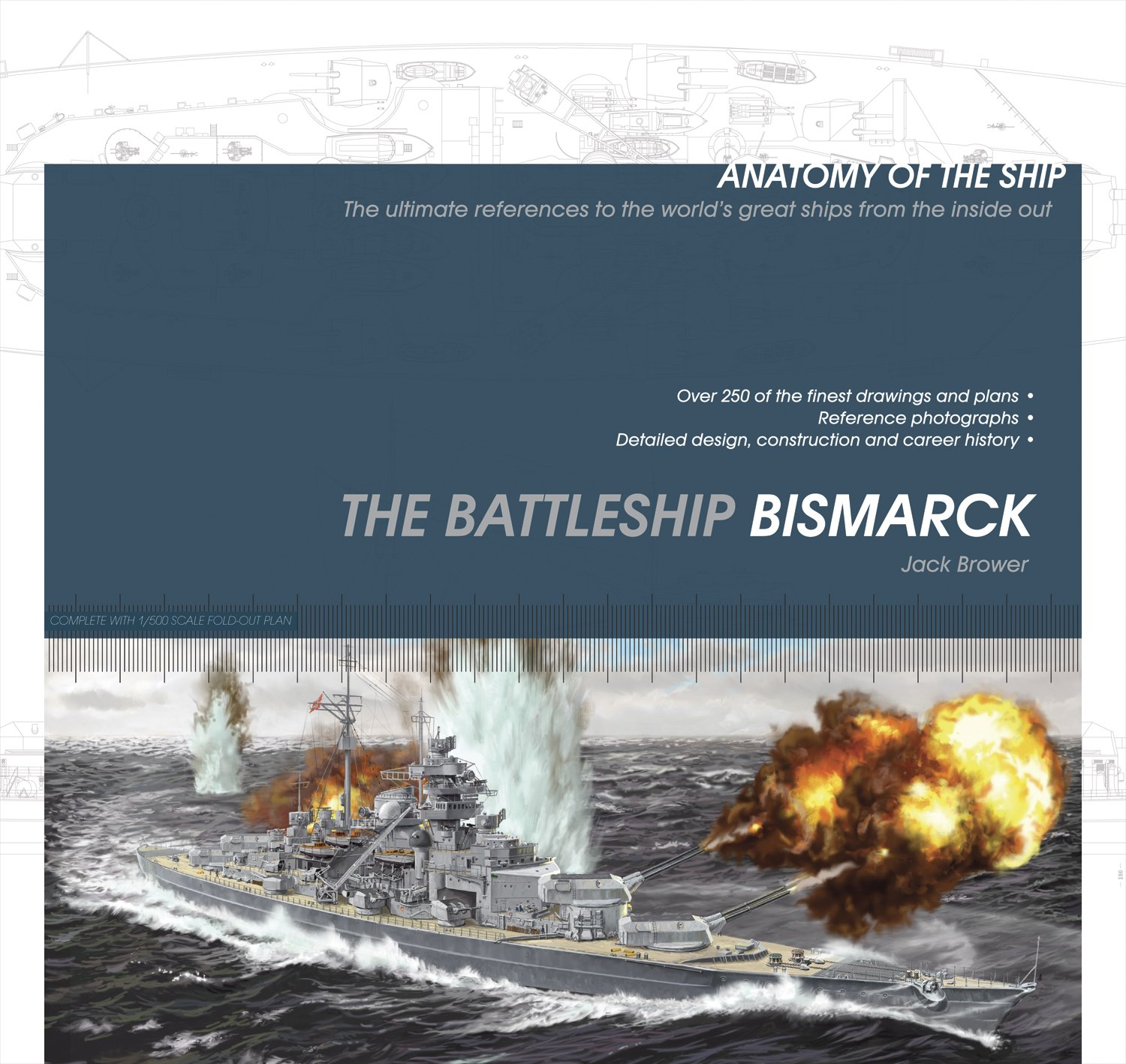 The Battleship Bismarck Anatomy Of The Ship Jack Brower