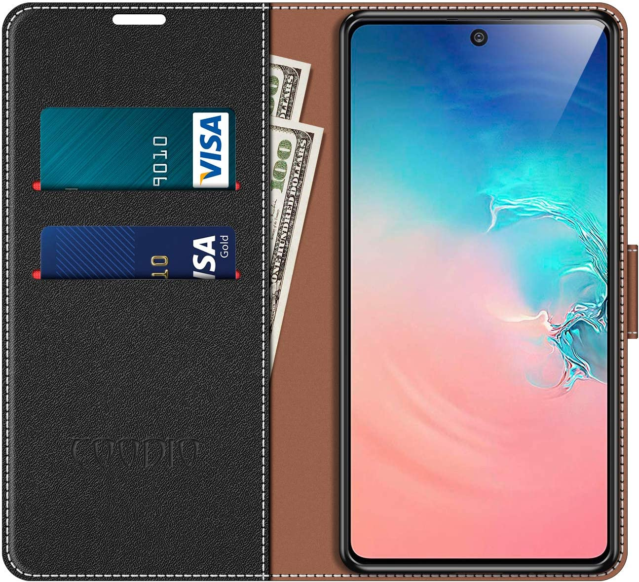 Magnetic Flip Leather Case For Samsung Galaxy S10 Lite Phone Cover ...