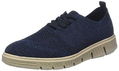 Falko Knitted 13, Zapatillas para Hombre, Azul (Blau 500), 40 EU Josef Seibel