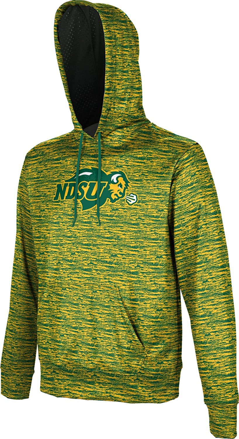 School Spirit Sweatshirt North Dakota State University Mens Pullover Hoodie Brushed