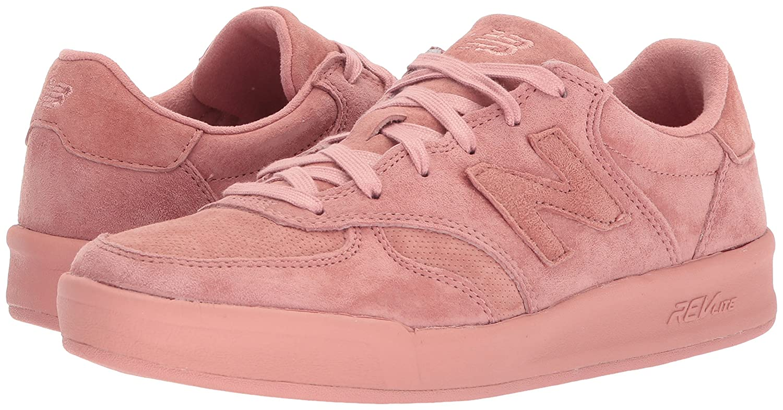 New Balance Women's 300v1 Sneaker B06XWTZP6J 5 B(M) US Dusted Peach/Dusted Peach