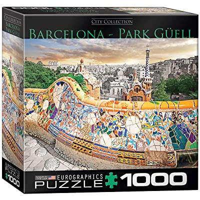 EuroGraphics Barcelona Puzzle (1000 Pieces): Toys & Games
