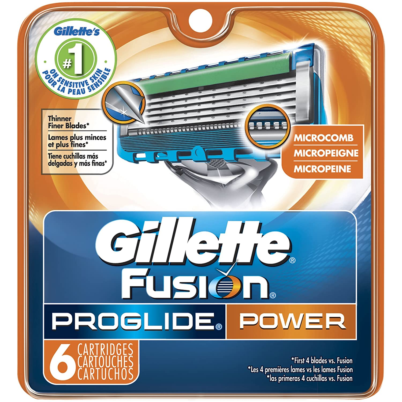 Gillette fusion proglide manual razor with flexball technology - Amazon Com Gillette Fusion Proglide Power Men S Razor Blade Refills 6 Count Mens Razors Blades Beauty