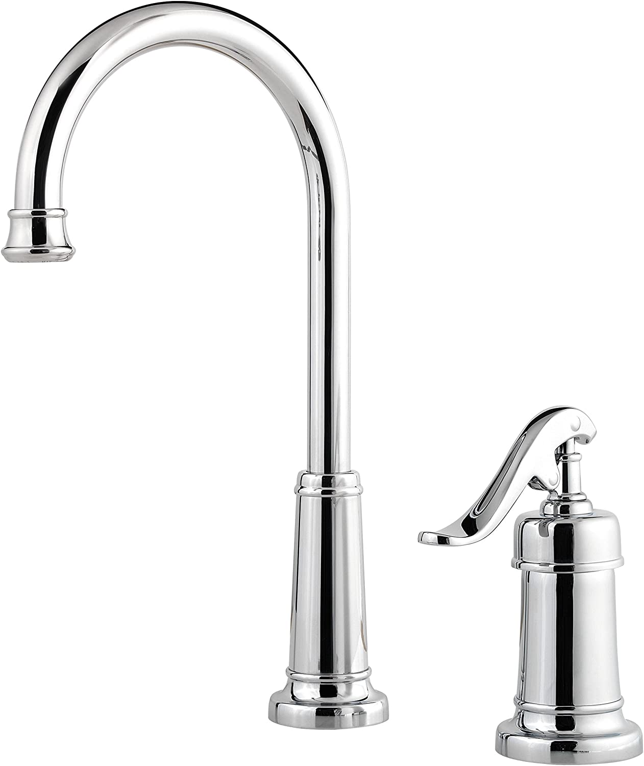 Pfister LG72YP2C Ashfield 1-Handle Bar/Prep Kitchen Faucet, Polished Chrome
