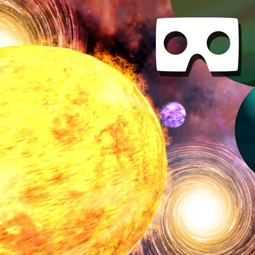 VR Solar System Roller Coaster (Best Solar System App Android)