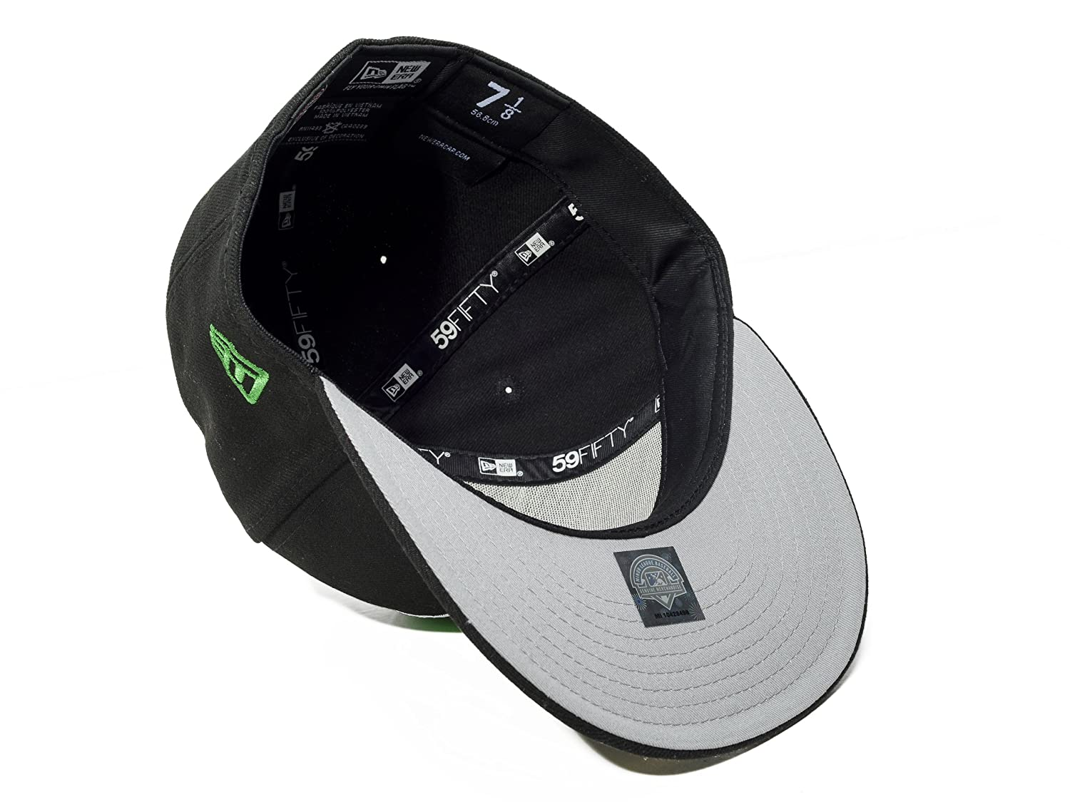 promo code 1bd33 feb0a Amazon.com   New Era 59FIFTY Dayton Dragons Black Green Fitted Cap   Sports    Outdoors