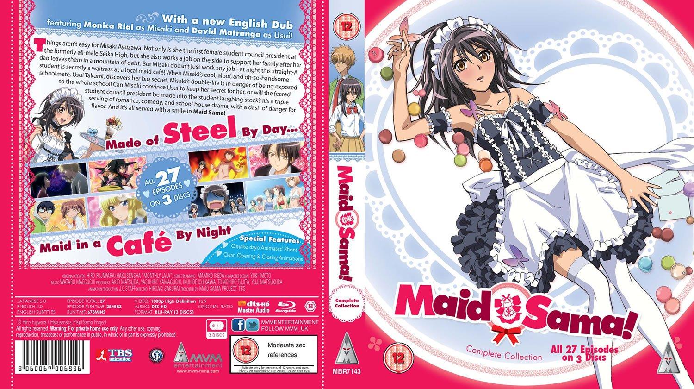 Amazon com: Maid Sama Collection [Blu-ray] [2016]: Movies & TV