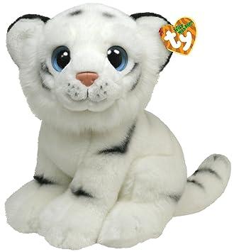 Ty 7175014 - Tigre albino de peluche India [importado de Alemania]