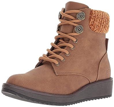 f093b92ddd6 Blowfish Women s Chomper Fashion Boot Wheat Saddle Rock Polyurethane 6  Medium US