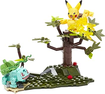 Mega Construx Bloks Pokemon PIKACHU vs BULBASAUR 140 Pcs DYF11 NEW