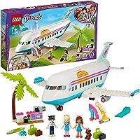 LEGO 41429 Friends Heartlake City Set, Vliegtuig Speelgoed met Stephanie en Olivia Mini Poppetjes voor Kinderen vanaf 7…