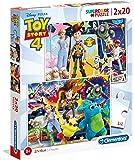 Clementoni Super Color Puzzle Toy Story 4, Multi-Colour, 2 x 20 Pieces