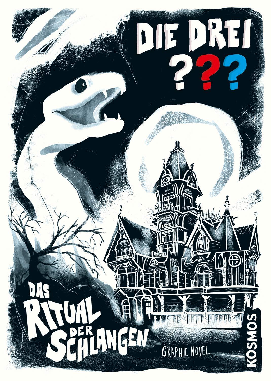 Die Drei     Das Ritual Der Schlangen  Graphic Novel