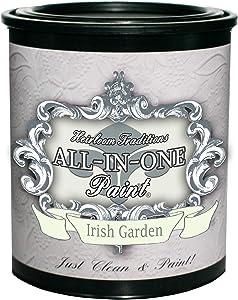 Irish Garden, Finish-All-in-One Paint (NO WAX!) (32oz Quart)