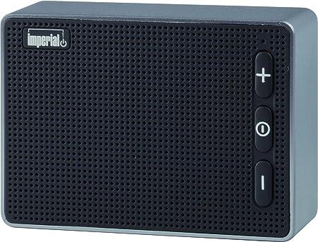 Imperial 22 9046 00 Bas 2 Mobiler Wireless Lautsprecher Bluetooth 4 2 Für Apple Und Android Smartphones Tablet Und Mp3 Geräte Microsd Kartenleser Schwarz Audio Hifi