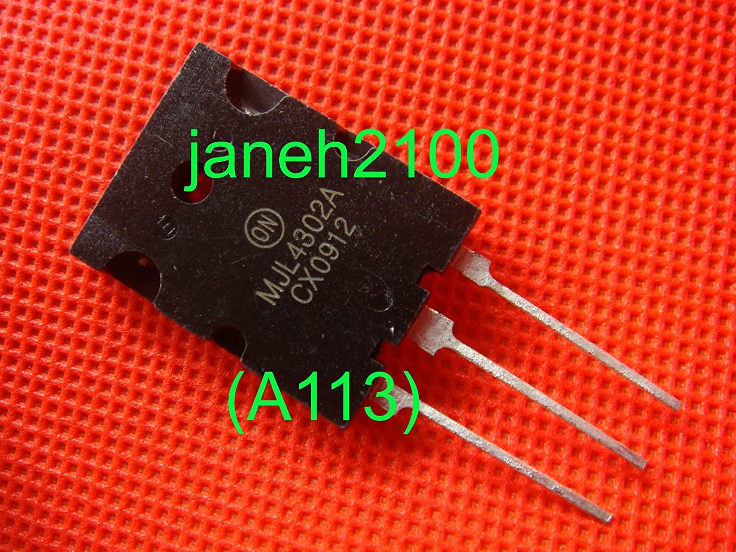 A113 1p MJL4302A Audio Power Amplifier transistor new FREE SHIPPING