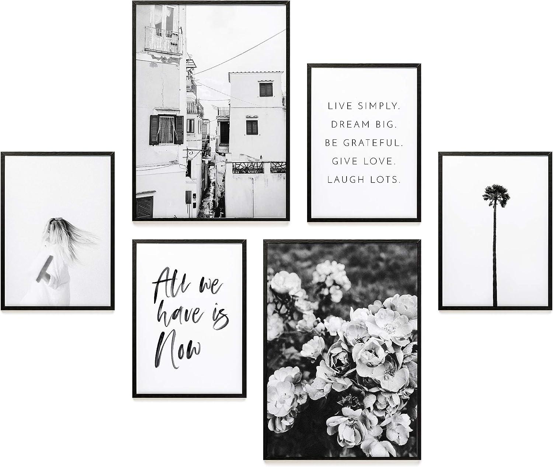Decorazioni da Muro per Soggiorno Poster Abbinati 2 x A3 Heimlich Set di Stampe da Parete 21x30cm 30x42cm et 4 x A4 | Senza Cornici /» all We Have Is Now /« Camera da Letto e Cucina