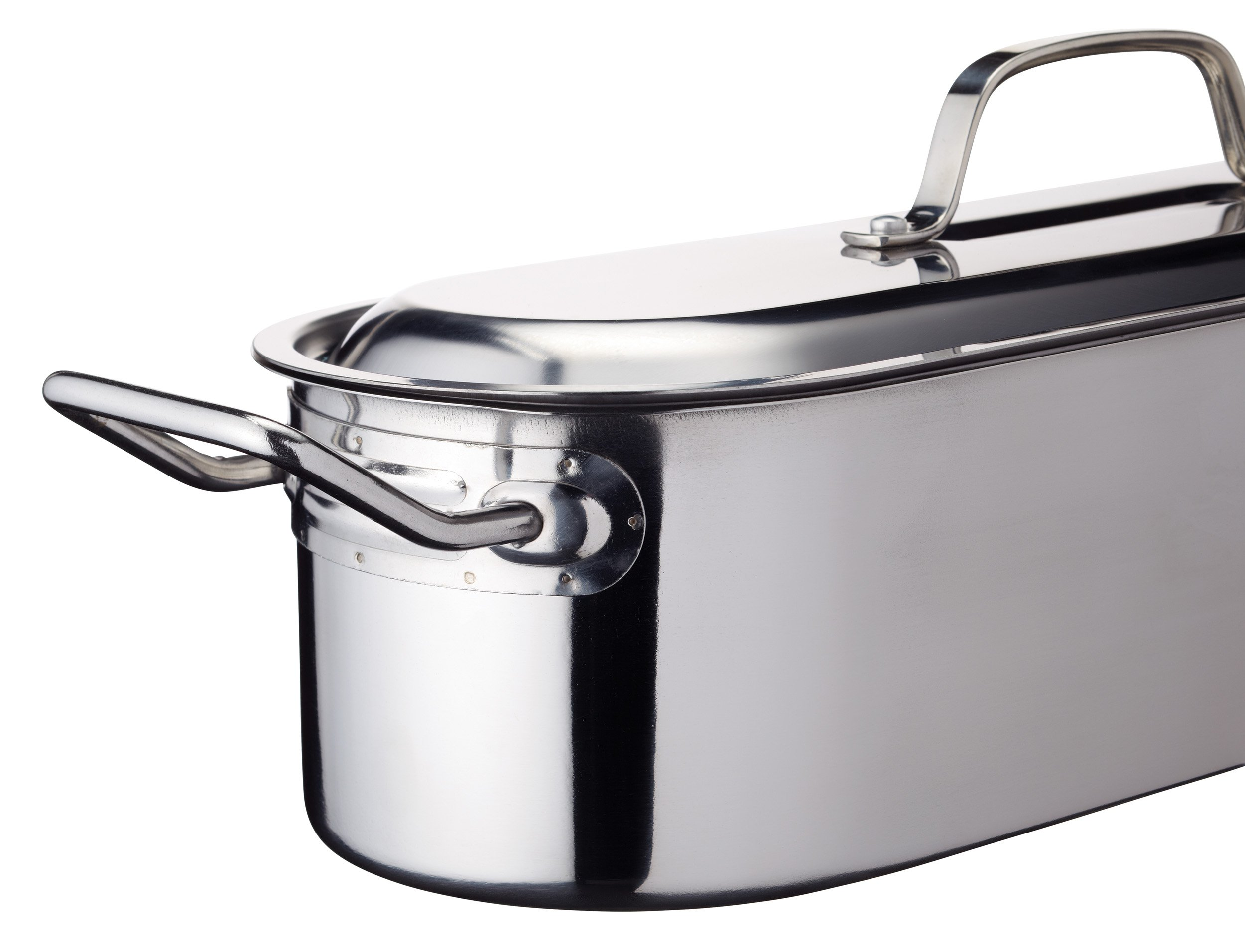 Kitchencraft Induction-safe Stainless Steel Fish Kettle, 45.5 x 15.5 x 10cm by Kitchen Craft (Image #2)