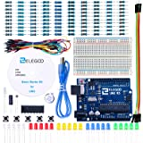 ELEGOO UNO Project Basic Starter Kit with Tutorial and UNO R3 Compatible with Arduino IDE