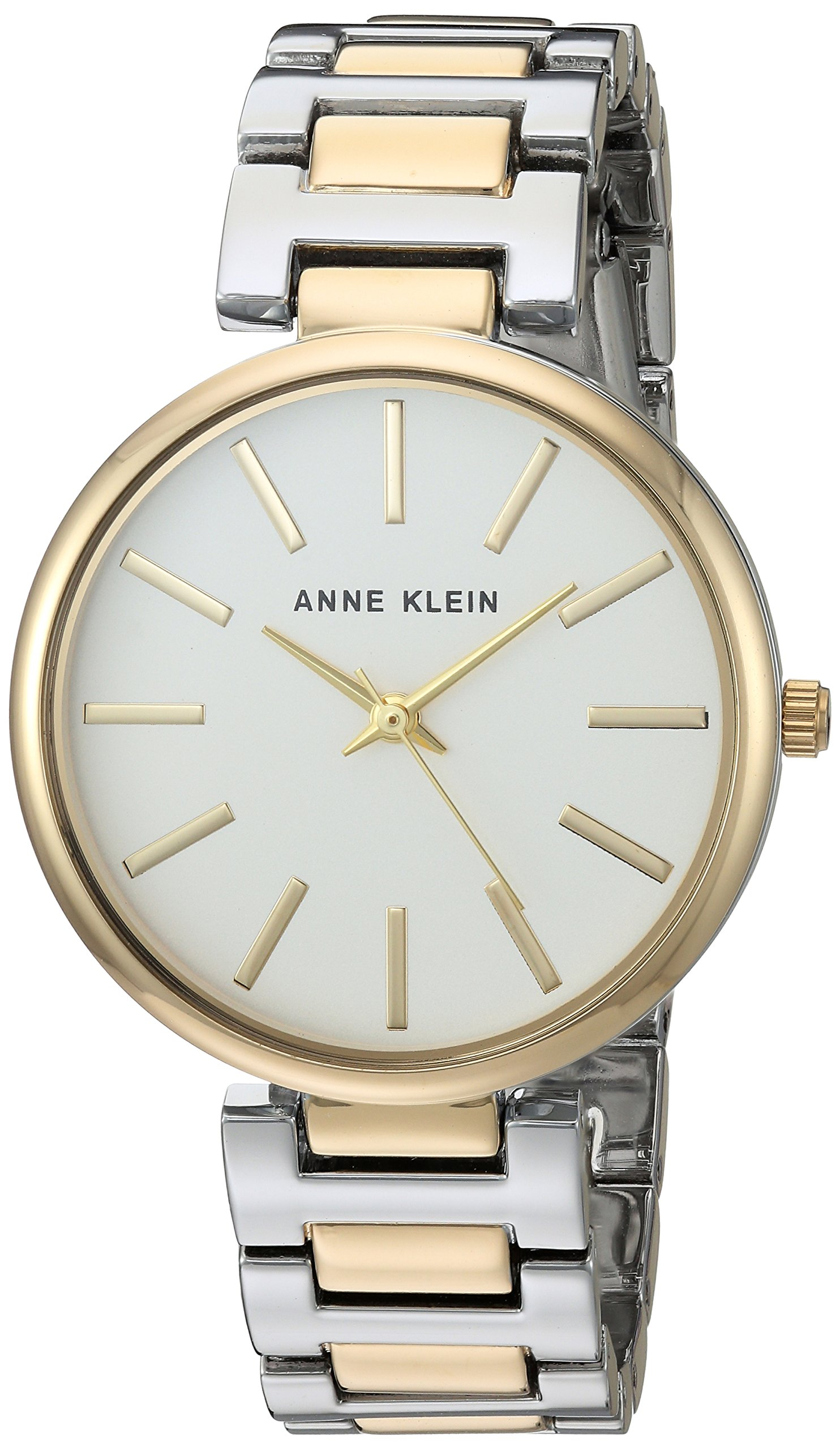 Anne Klein Women's AK/2787SVTT Two-Tone Bracelet Watch