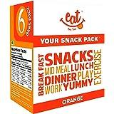EAT Anytime Orange Snack Bars - 240 g (Pack of 6)