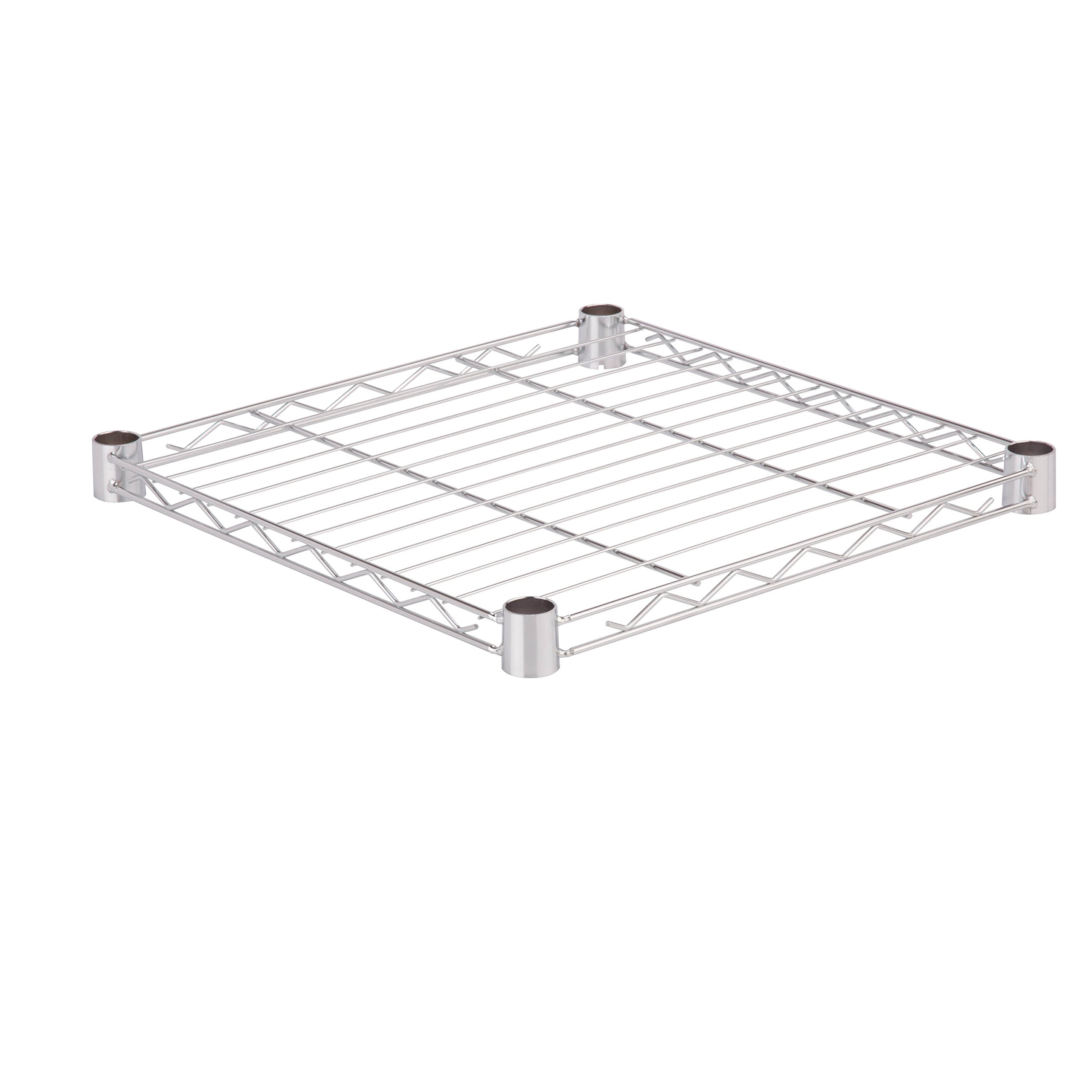 Honey-Can-Do SHF350C1818 Steel Wire Shelf for Urban Shelving Units, 350lbs Capacity, Chrome, 18Lx18W