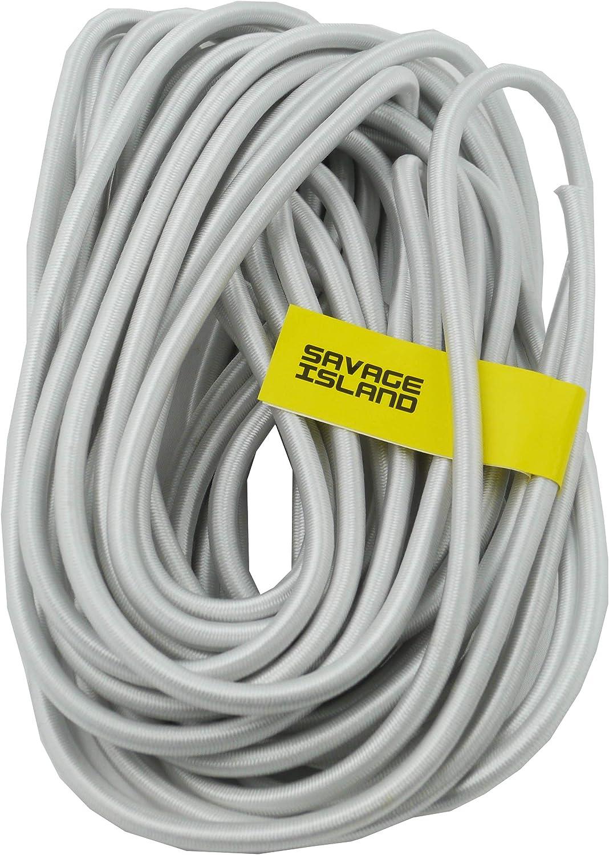 Savage Island strapazierf/ähiges 8 mm Gummiseil elastisches Band Bungee Strick