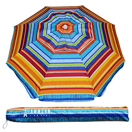 Amazon.com: Sombrilla Ammsun para protegerse del sol en la ...