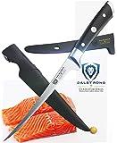 "DALSTRONG Filet Knife - 7"" Flexible - Gladiator Series - German HC Steel - w/Two Sheaths"