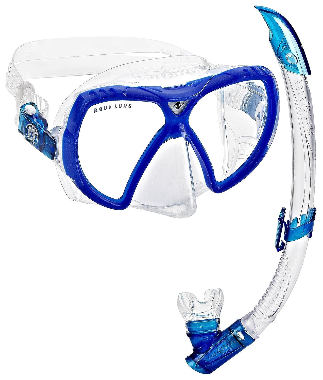 『1年保証』 Aqua Lungビジョンフレックスマスクシュノーケルコンボ、( Made Aqua in Made Italy ブルー ) B00MU5Z8FA ブルー ブルー, カホクマチ:6a47be05 --- mcrisartesanato.com.br