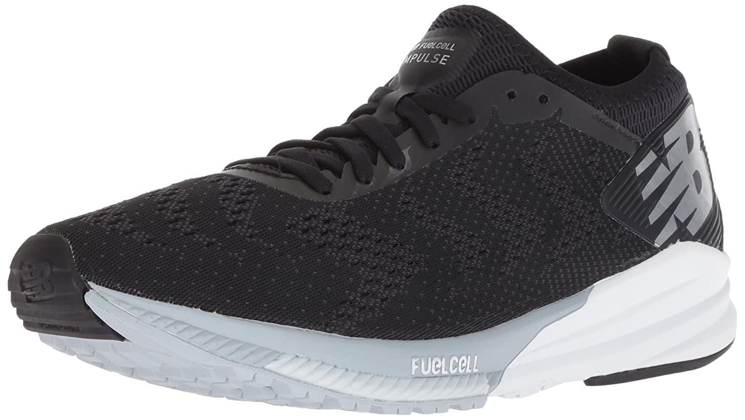 New Balance Women's Impulse V1 FuelCell Running Shoe B075R78J43 7.5 B(M) US|Black