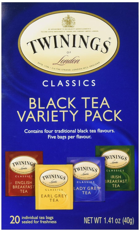 Twinings Tea Variety Pack, 20 ct