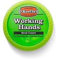 O'Keeffe's Working Hands - Crema para manos, frasco de 100 ml, frasco, 1 unidad, naranja, verde (Orange, Green)