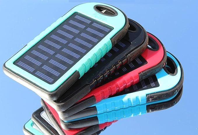 Amazon.com: Cargador Solar 30000mAh, Banco de Poewr Solar ...
