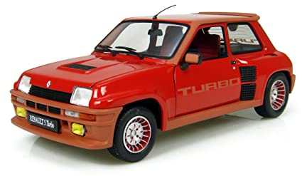 Die-cast Model Renault 5 Turbo (1:18 scale in Red)