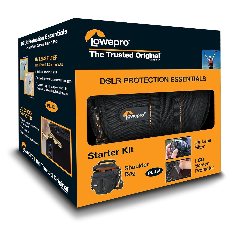 Lowepro DSLR protección Essentials Kit con bolsa de cámara ...