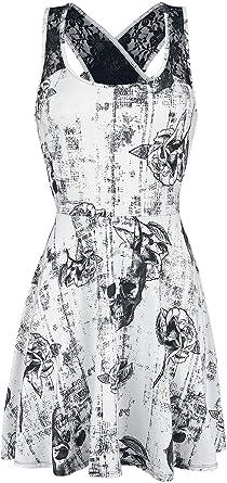 Black Premium by EMP Sweet Lady Kleid weiß  Amazon.de  Bekleidung b4ae4513d1