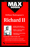 Richard II  (MAXNotes Literature Guides)