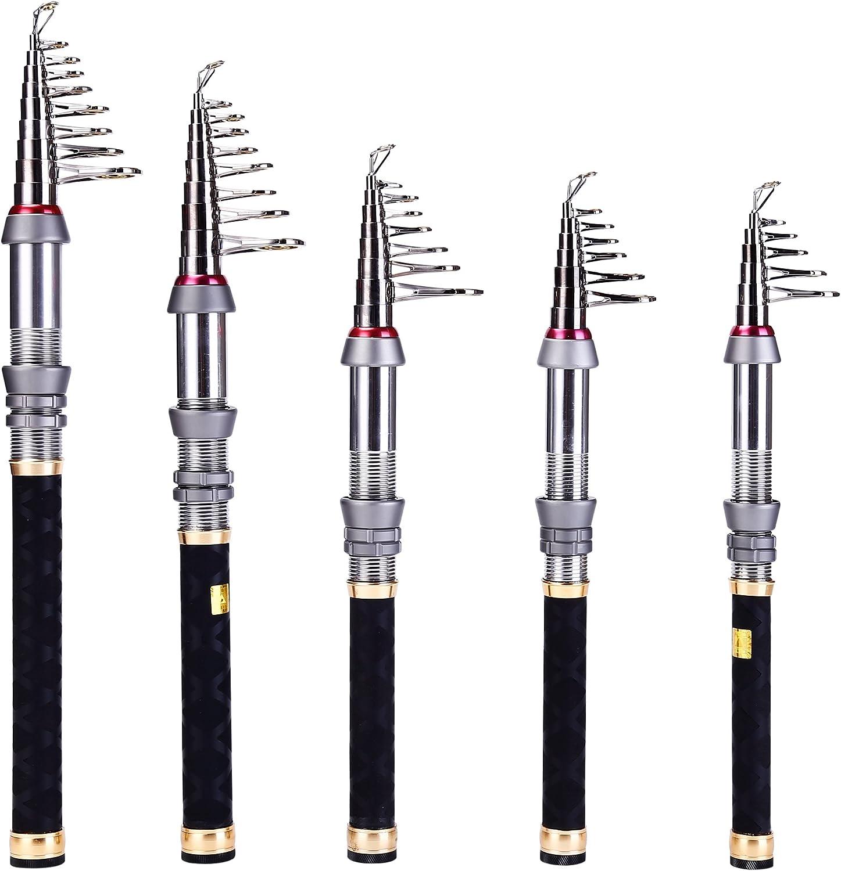 The Mini Rocket Carbon Fiber Telescopic Fishing Rod Pole For