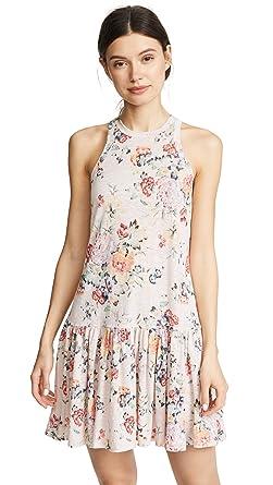 67c7e3597a Amazon.com  Rebecca Taylor Women s Sleeveless Marlena Jersey Dress ...