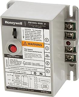 honeywell r8184g 4066 protectorelay oil burner control with 15 s rh amazon com honeywell r8184 wiring diagram Honeywell R8184G Troubleshooting