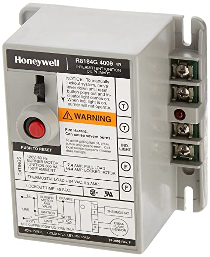 Honeywell R8184g4009 International Oil Burner Control Household. Honeywell R8184g4009 International Oil Burner Control. Wiring. Honeywell Furnace Transformer Wiring Diagram At Scoala.co