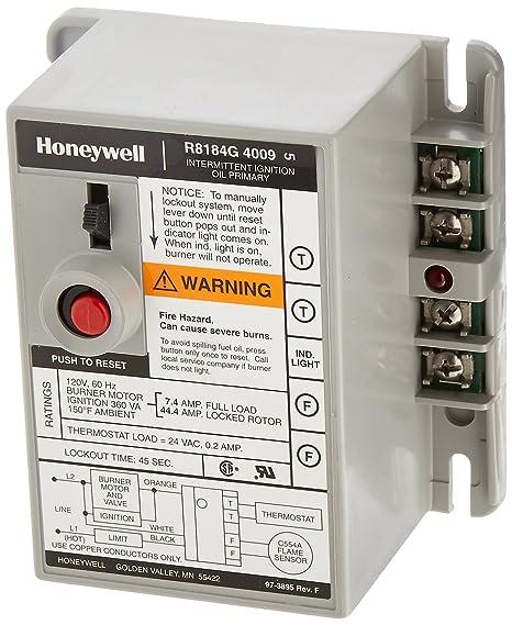 Honeywell R8184G4009 International Oil Burner Control on